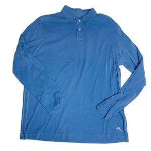 Tommy Bahama Mens Polo Shirt Size Medium M Violet